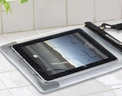 Waterwear saves your iPad from certain death