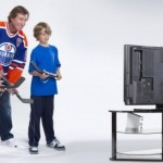 NHL Slapshot comes with Wayne Gretzky approved Wiimote hockey stick
