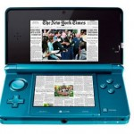 Nintendo 3DS might support digital newspapers and magazines