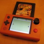 Portable Atari console the size of a Gameboy