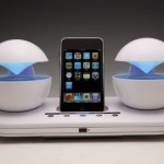 Speakal iCrystal iPhone/iPod dock
