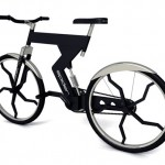 Spider bike concept is made with airplane tech