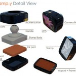 Stamp.y Digital Camera stamps your pictures