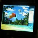 Toshiba LCD panel does 2D and 3D images at the same time