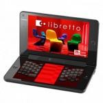 Toshiba Libretto W100 dual-screen tablet