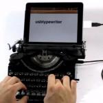 Retro typewriters turned into USB keyboards