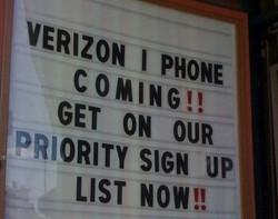 Verizon iPhone coming in January