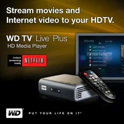 Western Digital WD TV Live Plus HD with Netflix streaming