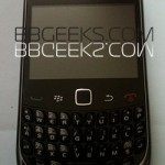BlackBerry Curve 9300 with T-Mobile logo