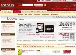 Borders launches its own Kobo-powered eBook store