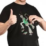 BeerBot shirt from ThinkGeek is a frat boy's best friend