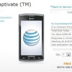 Samsung Captivate now shipping from AT&T