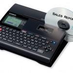 Casio CD/DVD Title Printer