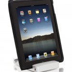 HyperMac iPad Stand is also a charger