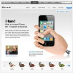 iHand solves your iPhone 4 reception issues