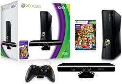New Xbox 360 4GB shipping August 3rd for $199, Kinect by itself is $149, holiday bundle for $299