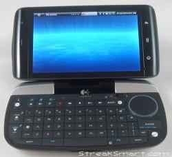 Dell Streak and Logitech diNovo Mini keyboard hook up