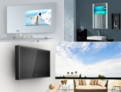 Luxurite 82-inch Glass TV