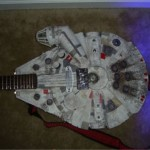 Millennium Falcon Guitar rocks the Cantina