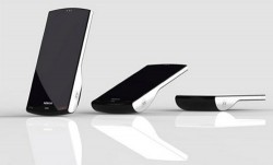 Nokia Kinetic concept phone stands up when you get a call