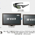 Panasonic adds Blu-ray 3D/HDD all-in-one plasmas