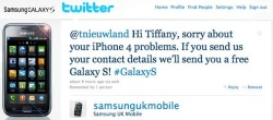 Samsung sending free Galaxy S handsets to unhappy iPhone 4 users on Twitter?