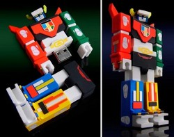Voltron Flash drive looks great