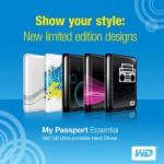 Western Digital 500GB My Passport Essential limited edition designs