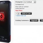 Droid X now available