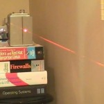 Laser Tripwire takes your Photo, uploads it to Twitter
