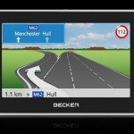 Becker Traffic Assist Z215 GPS navigation system for Europe