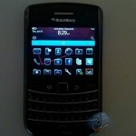 Verizon BlackBerry 9650 shown running OS 6