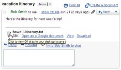 Gmail introduces Drag And Drop Attachment Saving