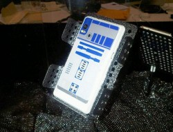 First pics of the R2-D2 Droid 2 phone