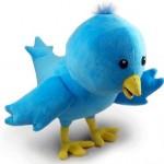 Plush Twitter Bird toy