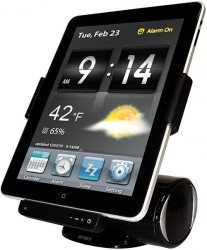 Jensen JiPS-250i iPad dock with video out, speakers