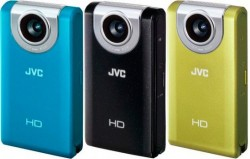 JVC Picsio GC-WP10 and GC-FM2 1080p pocket camcorders