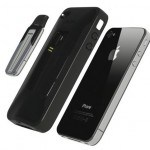iPhone 4 case with built-in Bluetooth Headset