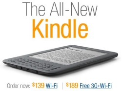 New Kindle Pre-Order Sales