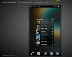 Updated MeeGo Smartphone UI revealed