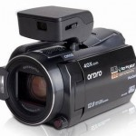 Ordro HDV-D350S HD Camcorder with built-in Pico Projector