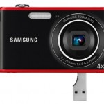 Samsung 12.2MP PL90 point and shoot with built-in USB plug