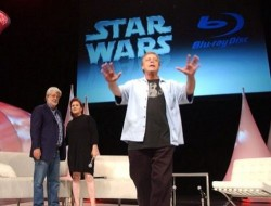Lucas announces Star Wars on Blu-ray in 2011