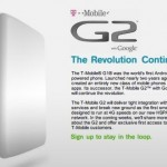 T-Mobile G2 teaser site surfaces