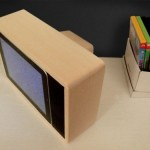 Retro television iPad dock