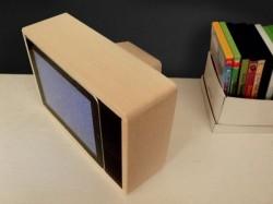 Retro television iPad dock