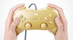Wii Classic Controller Pro goes gold for GoldenEye 007