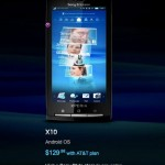 Sony Ericsson Xperia 10 gets official on AT&T: $130 on contract