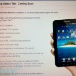 Verizon to launch Samsung Galaxy Tab on Thursday?