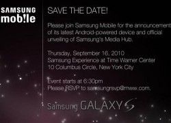 Samsung to launch new Galaxy S smartphone on September 16?